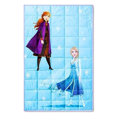 Disney Frozen 2 Plush Weighed Blanket - 40 in x 60 in: Home & Kitchen