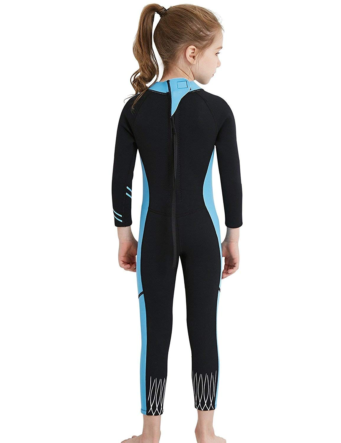 614b7d56ff Amazon.com   DIVE   SAIL Kids Wetsuit 2.5mm Neoprene Keep Warm for Diving  Swimming Canoeing UV Protection   Sports   Outdoors