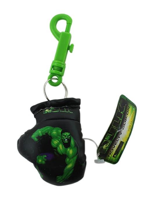 Negro increíble Hulk guantes de boxeo llavero: Amazon.es ...