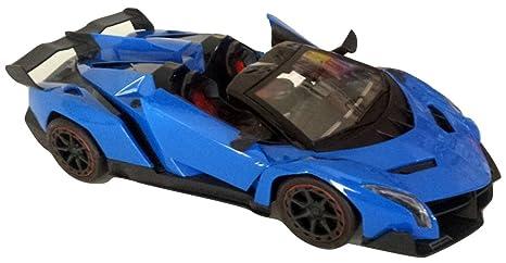 Amazon.com: Blue Lamborghini Veneno Battery Operated Remote Control ...