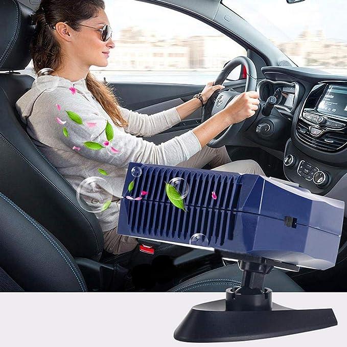 24V Scaldabagno Elettrico Portatile per Auto Invernale Sbrinatore 120W Euopat Riscaldatore per Auto 300W Sbrinatore per Riscaldamento Auto Demister Termoventilatore di Raffreddamento 12V