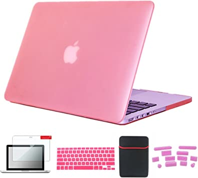 """Hard Case+Keyboard Cover+LCD Screen for 2018 New Macbook Pro 13/"""" with Touch Bar"""