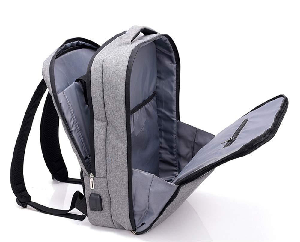 RENMEN2 Con interfaccia di Ricarica Ricarica Ricarica USB, Foro per Le Cuffie, Zaino da Uomo Business Casual, nero | bello  | Materiali Di Qualità Superiore  c561c1