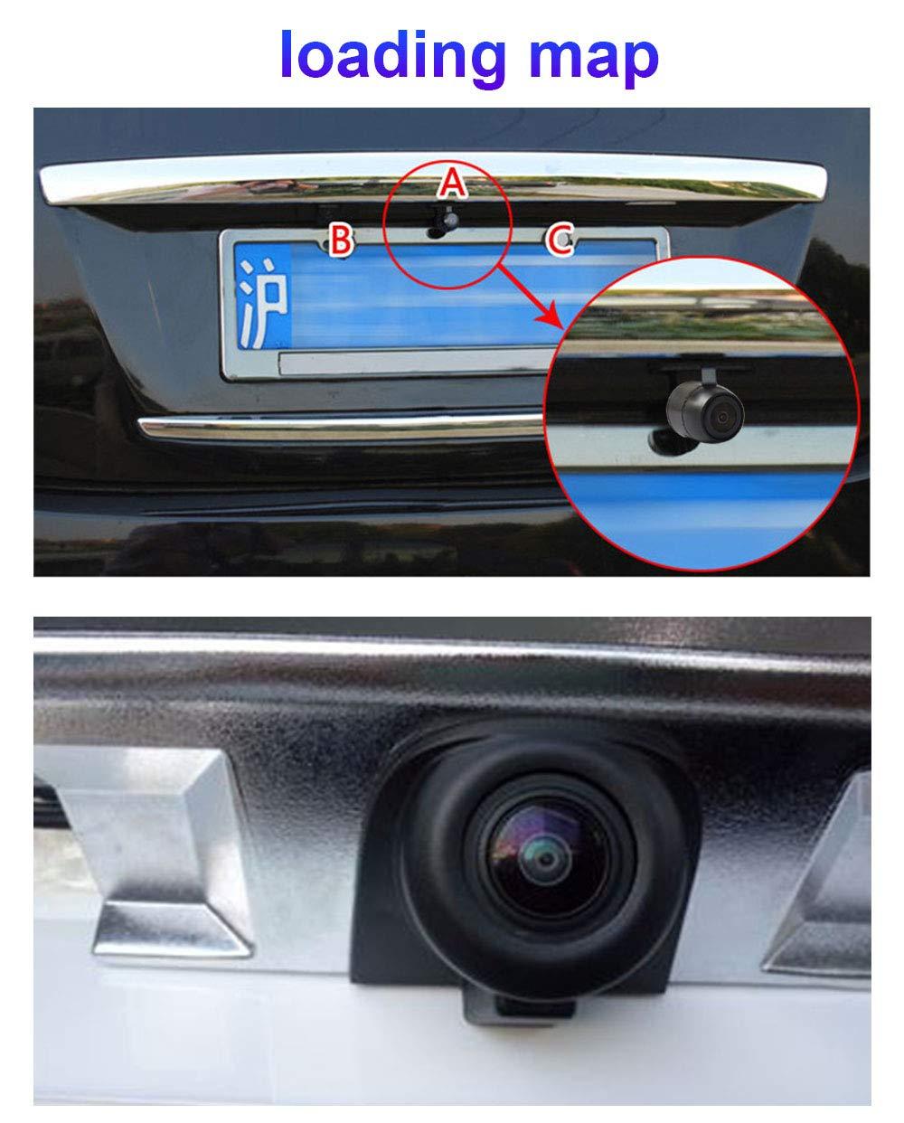 Chip impermeable del CCD de la c/ámara del rev/és de la vista posterior del coche del veh/ículo con la visi/ón nocturna,vista frontal o vista lateral