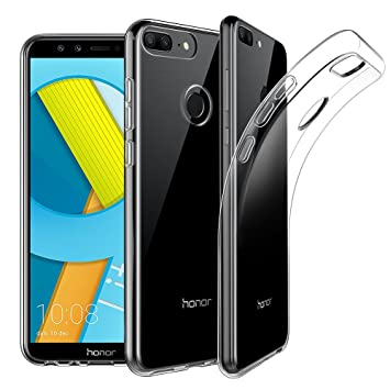 half off ad76a 09c07 Huawei Honor 9 Lite Case, EasyAcc Soft TPU Crystal: Amazon.co.uk ...