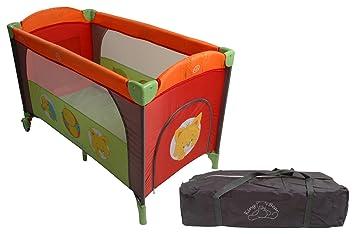 fa1767cb49618f King Bear Lit Parapluie Gris Orange Imprime Vide Poche et Ouverture Zippée