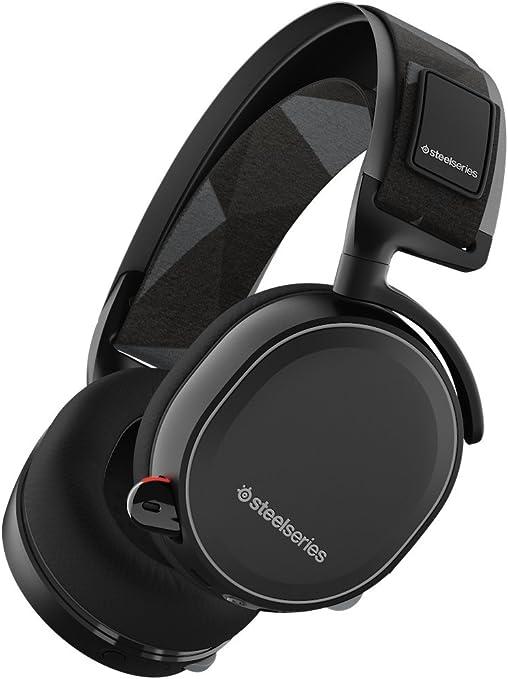 SteelSeries Arctis 7 (Edición Legado) - Auriculares para juego, Inalámbrico, DTS 7.1 Surround para PC, Mac, PlayStation 4, Móvil, VR, color Negro: Steelseries: Amazon.es: Informática