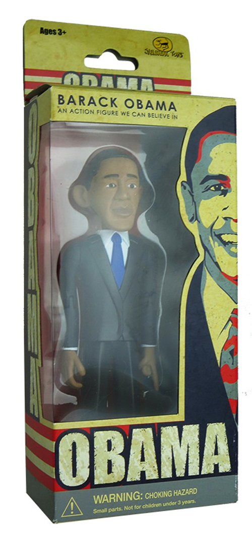 1//6 Scale DID Action Figrues Blue Neck Tie Obama