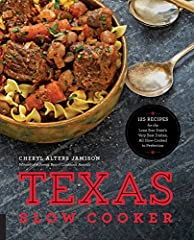 Texas Slow Cookerprovides southern flavors with cooking know-how from The Lone Star State. Even great cooks, such as Cheryl Jamison, one of the preeminent authorities on American regional cuisine and the author of many award-winning c...
