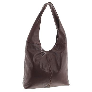 420dd45822ac9 MIO Damen Tasche Ledertasche echt Nappa Leder Handtasche Umhängetasche  Shopper Schultertasche Frauen