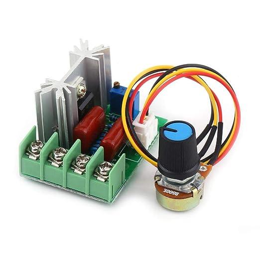 25 opinioni per AC 50-220V 2000W SCR Regolatore di Tensione Elettrica del Modulo di Bordo