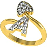 Jewelscart Ring for Women (Golden)(JC01001083)