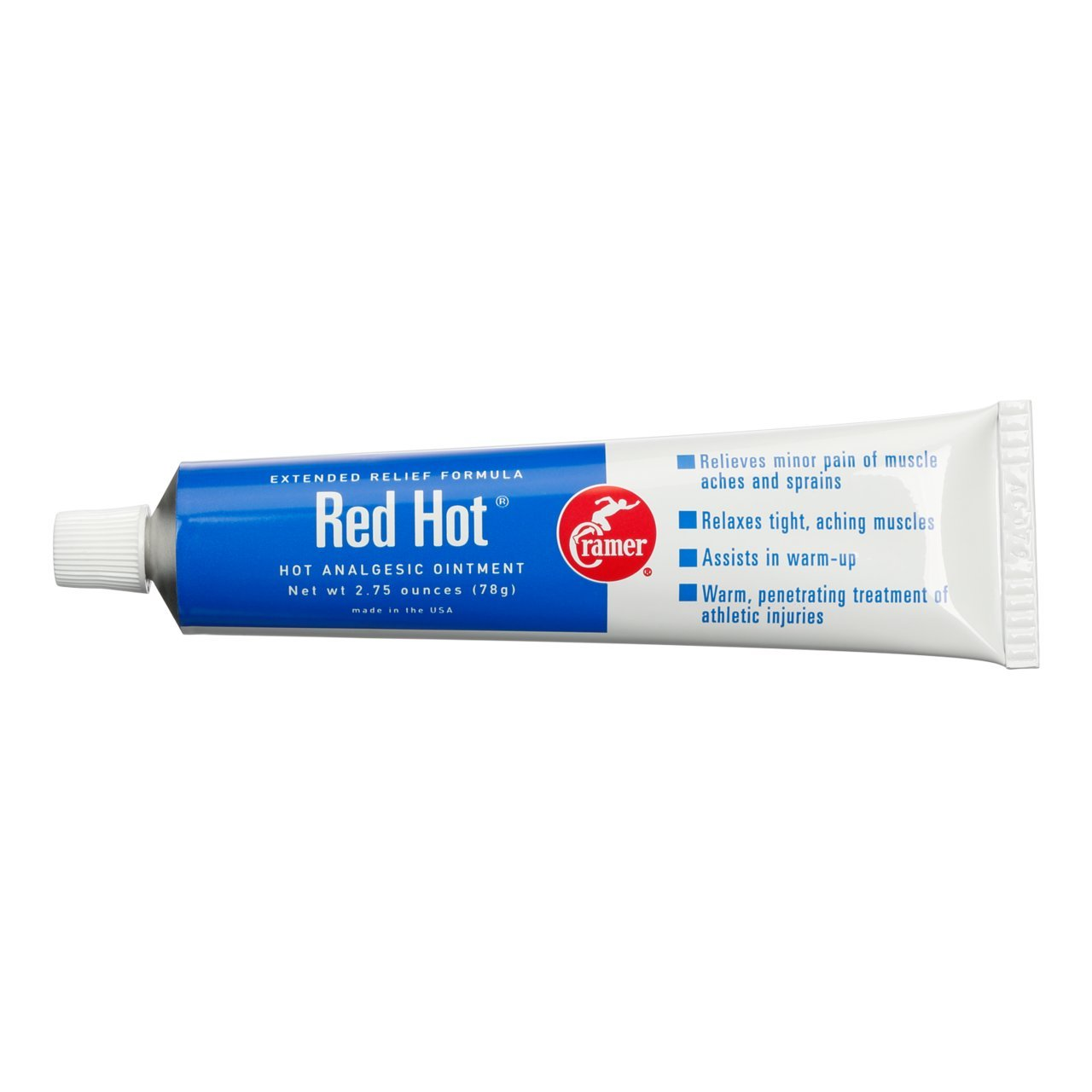 Cramer Red Hot Ointment for Muscle & Joint Pain Relief & Sore Muscles, Penetrating Warming Heat Therapy Cream for Warm-Up, Recovery, Athletes, Athletic Trainers, Arthritis, Tendonitis by Cramer