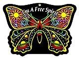 Butterfly Spirit - Fuzzy Velvet Die-Cut Hanging Attitude