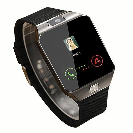 Amazon.com: HOK Bluetooth Smart Watch 1.54 Inch Touch Screen ...