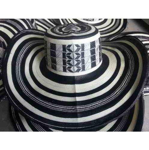 Coastal Sombrero Hat - Beautiful Colombian Sombrero Vueltiao 19 Vueltas Made By Colombian Artisans