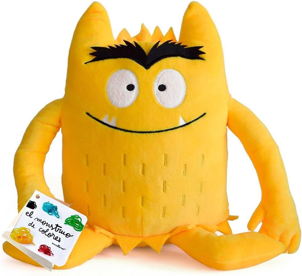 Anna Llenas - El monstruo de colores peluche, color amarillo: Anna ...