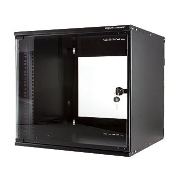 H/öheneinheiten LogiLink 19 SOHO Wandgeh/äuse mit 6HE grau im Flatpack unmontiert