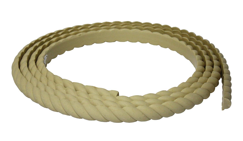 Flexible Moulding - Flexible Rope Moulding - DE913-3/4 X 1 - 8' Length - Flexible Trim Resinart East Inc C-DE913-S-S8/0