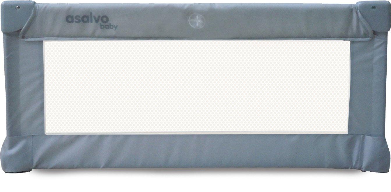Asalvo, 12685, Barrera de Cama, 90 cm, Diseño Barquito de Papel, Color Azul Asalvo_12685