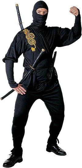 WIDMANN Unbekannt Disfraz de ninja chino para hombre, talla M ...