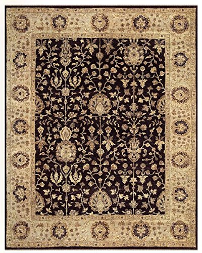 Feizy Rugs Drake Collection Imported Area Rug, 2' x 3', (Drake Black Rugs)