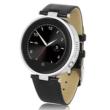 ZGPAX S365 - Smartwatch Bluetooth, Reloj Inteligente, Pantalla Tactil Capacitiva, Podómetro, Recordatorio Sedentaria para Smartphone Android 4.4 iOS7 o ...