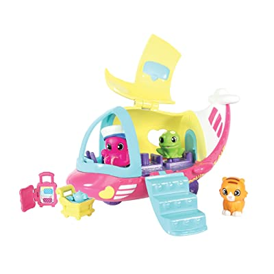 Squinkies Season 1 Squinkieville Airplane Vehicle Set: Toys & Games
