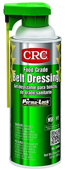 Food Grade Belt Dressing, Aerosol, 16 oz.