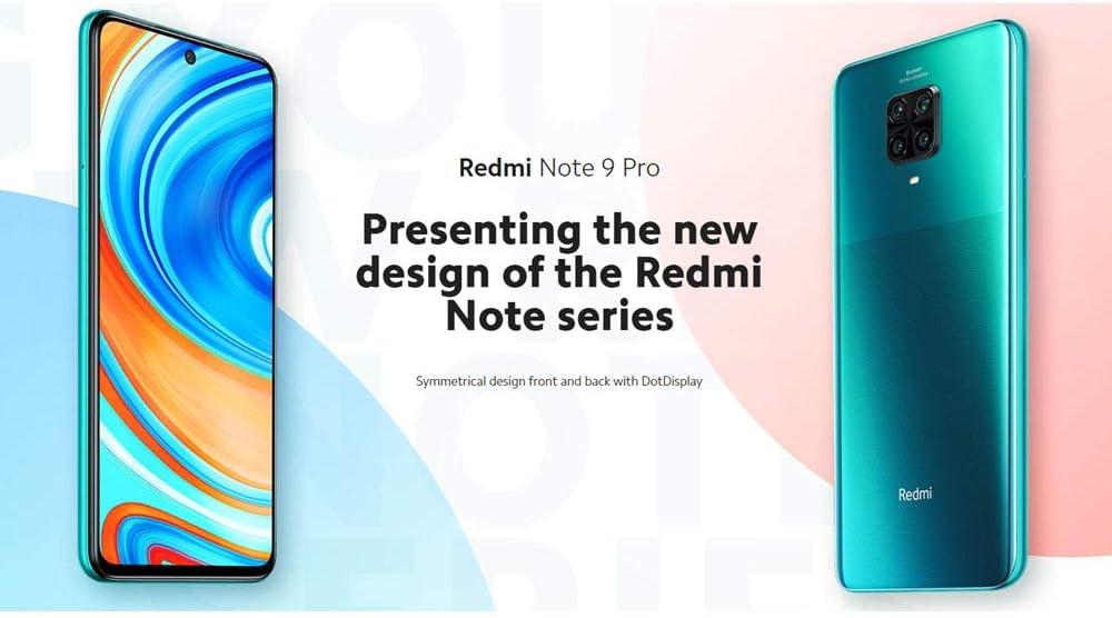 Xiaomi Redmi Note 9 Pro Smartphone 6 67 Zoll Dotdisplay 6gb 128gb 64mp Ai Quad Camera 5020mah Typ Nfc Grau Globale Version Elektronik