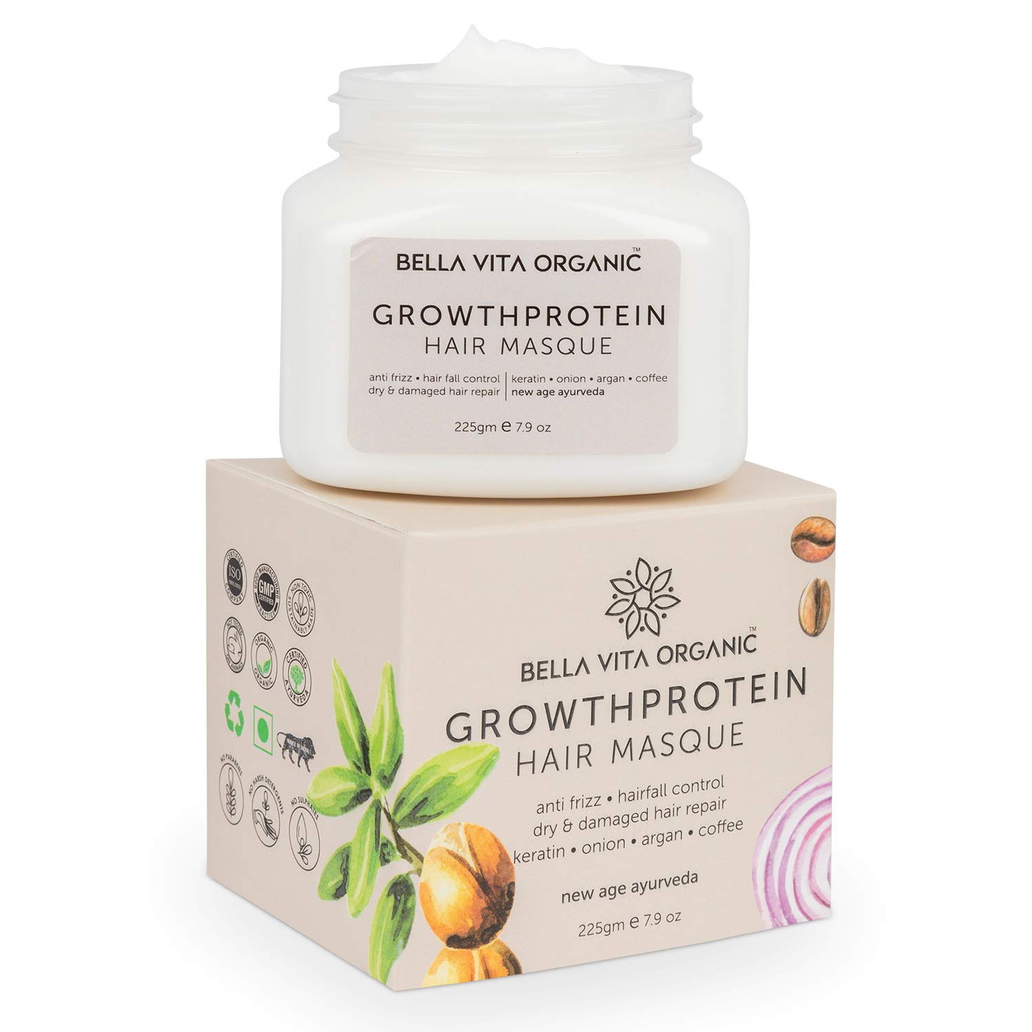Bella Vita Organic Growth Protein Hair Spa : Best spa cream for hair