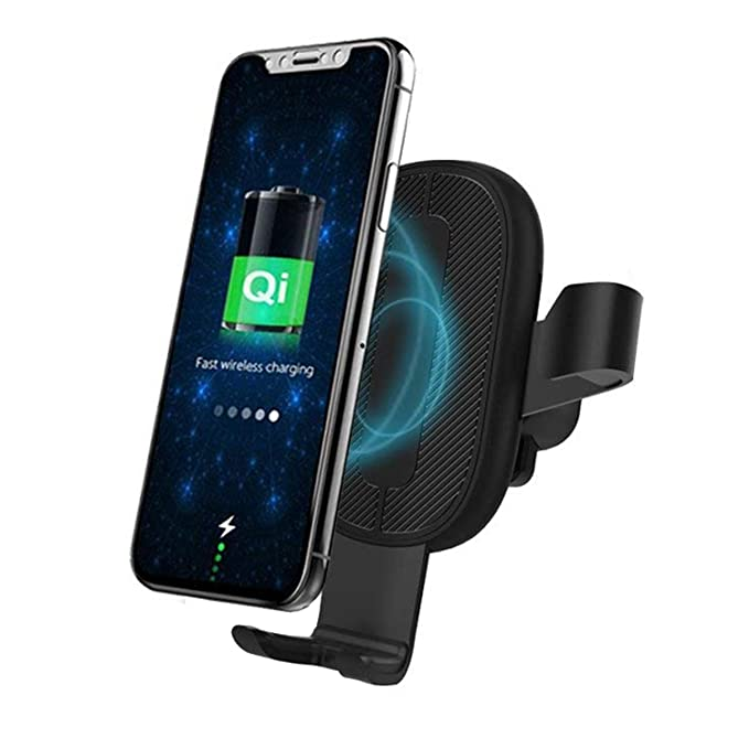sale retailer f33e3 b289d Amazon.com: Wireless Charger Car Mount Adjustable Gravity Air Vent ...
