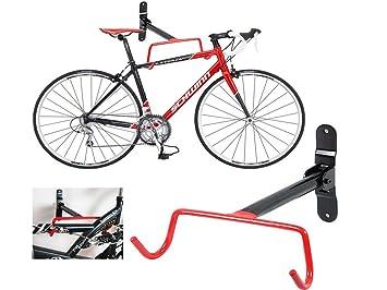 095dd75db FiNeWaY  - Soporte colgador para bicicletas de almacenamiento con un  sistema de fijación a la pared con tornillos  Amazon.es  Deportes y aire  libre