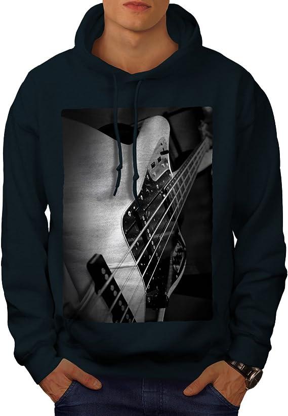 wellcoda Bass Guitar Jazz Mens Sweatshirt Instrument Casual Jumper