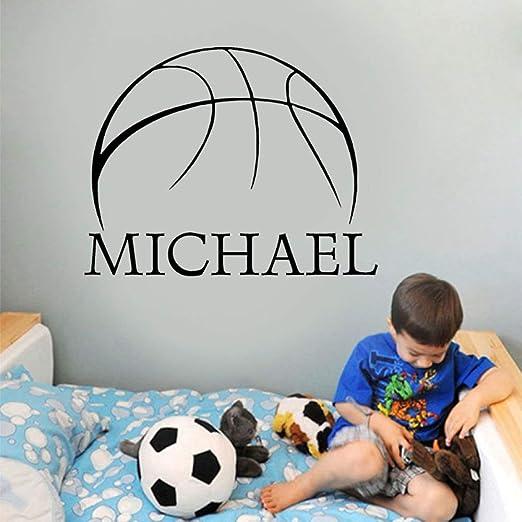 Modeganqingg Nombre Personalizado Dormitorio Infantil para niños ...