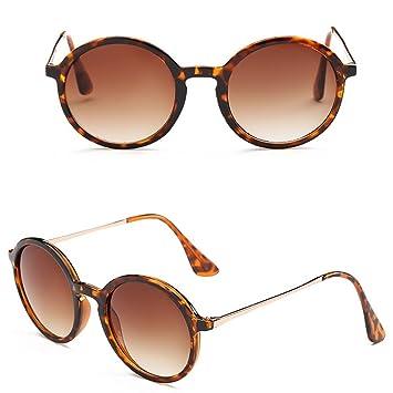 Mo Mok para mujer para hombre Classic redondo marco gafas de ...
