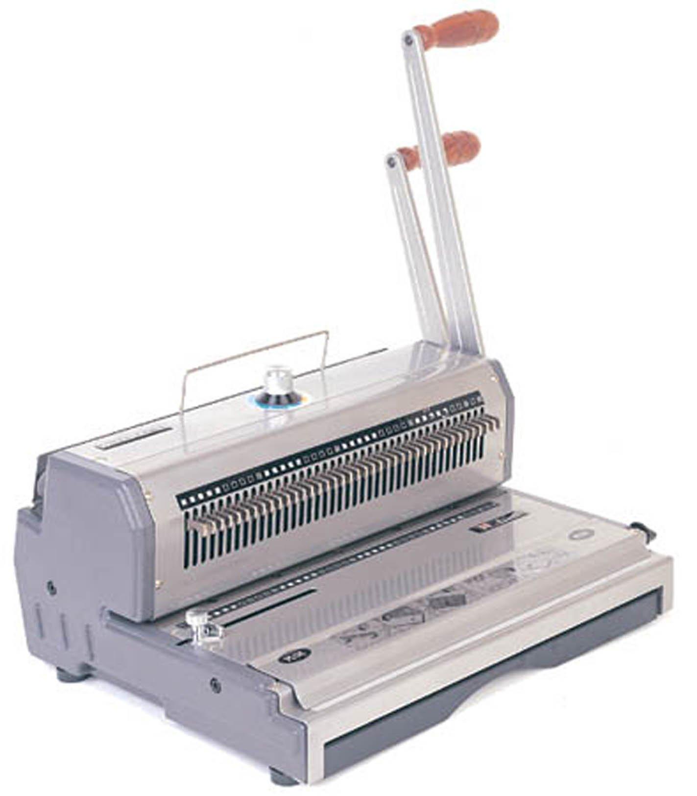 Akiles Wiremac-21 14'' 2:1 Pitch Wire Binding Machine & Punch