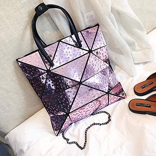 Fire Super Sac Mode Mode Violet Sauvage à Sacs WSLMHH été féminine Géométrique Sac à bandoulière Main Pack à Main Cxnwwa5