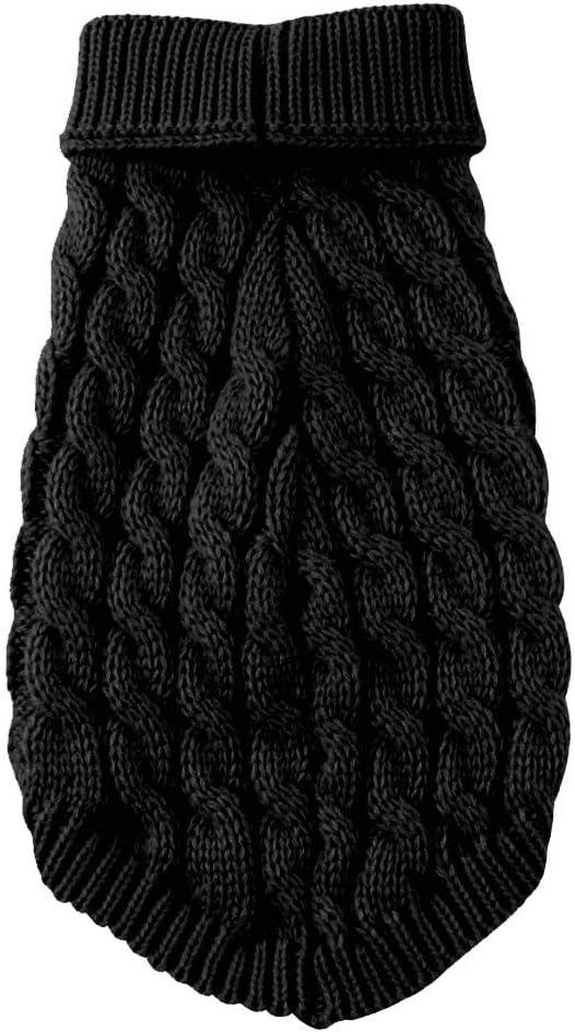 Zimuuy Haustier Kost/üm Warme Hundepullover,Sweater Gestrickter Pullover f/ür Kleine Hunde