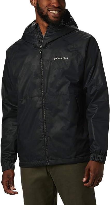 Columbia Men/'s Helvetia Heights Jacket Waterproof /& Breathable