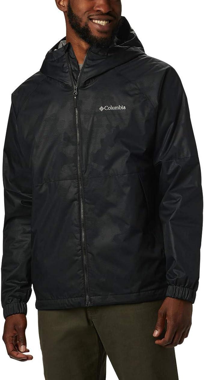 Columbia 哥伦比亚 Helvetia Heights 防风透气保暖 户外男式连帽夹克 M码3.2折$32.02 海淘转运到手约¥286