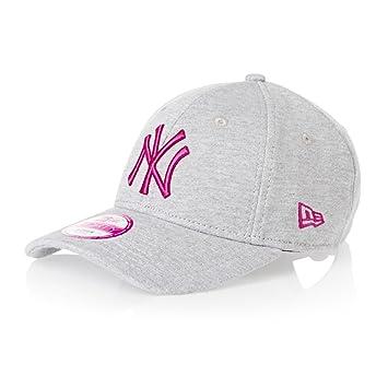 f3529a0190d New Era 9Forty Womens Jersey NY Yankees Baseball Cap - Grey Pink   Amazon.co.uk  Sports   Outdoors