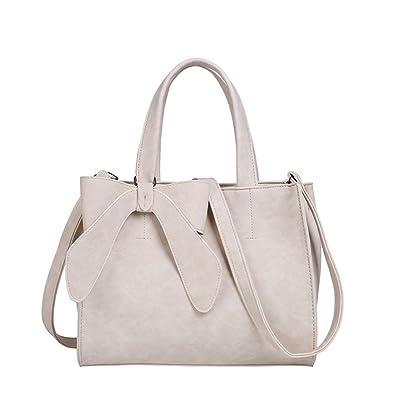 e8afa7acc902 Women s Tote Purses and Handbags Bow Tie Leisure Top-Handle Cross-body  Shoulder Bags