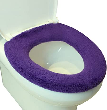 étirement Y épais tapis WC commun type de couvercle de toilette (violet):  Amazon.fr: Cuisine & Maison