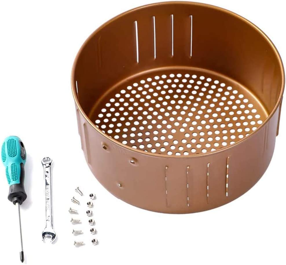 Etase Air Fryer Replacement Basket 3.7QT for Power Gowise USA Air Fryer and All Air Fryer Oven, Non-Stick Fry Basket