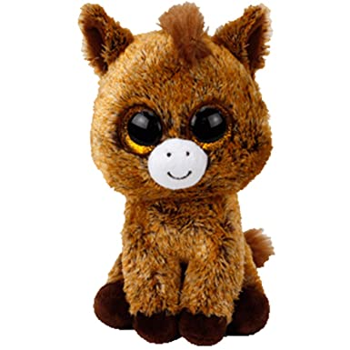 TY - Beanie Boos Harriet, Peluche Caballo, 15 cm (United Labels Ibérica 36842TY