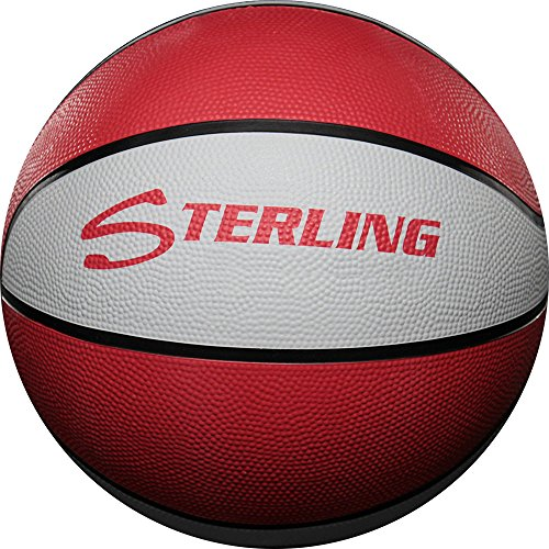 Sterling Red/White 28.5 Size 6 Basketball