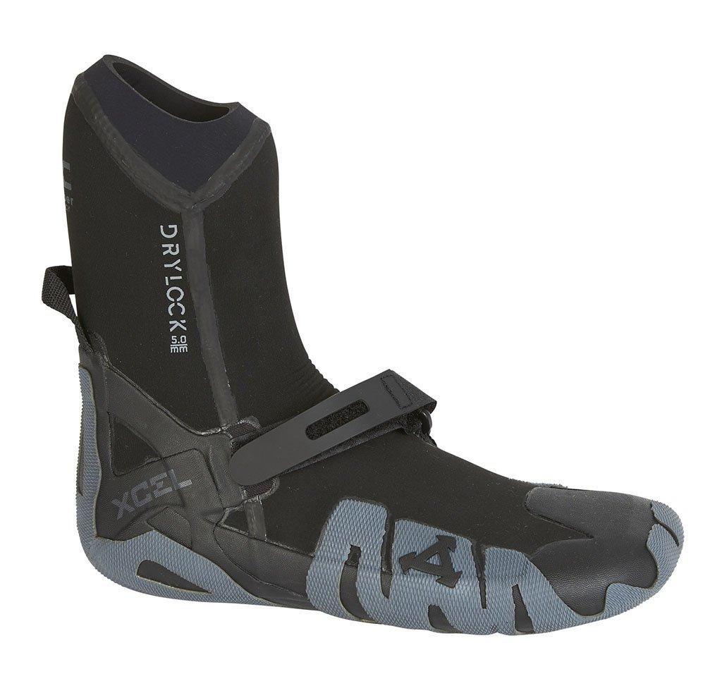 Xcel Fall 2017 Drylock Round Toe Boots, Black/Grey, Size 6/7mm