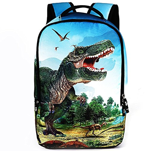 Ryse Womens / Mens Fashionable Trendy Cool Animals Pattern Backpack Large Capacity Students - Online Cooler India