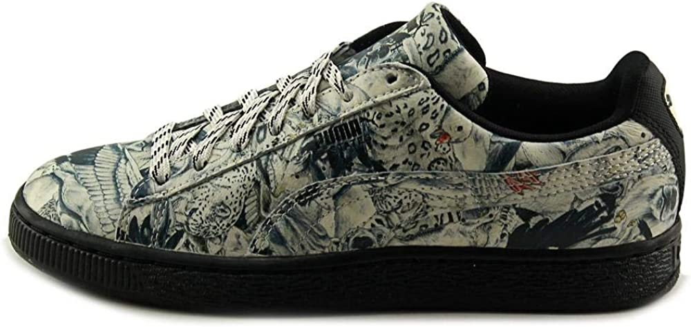 Puma Chaussures Suede Classic Mid pour Hommes Whisper White State X Swash
